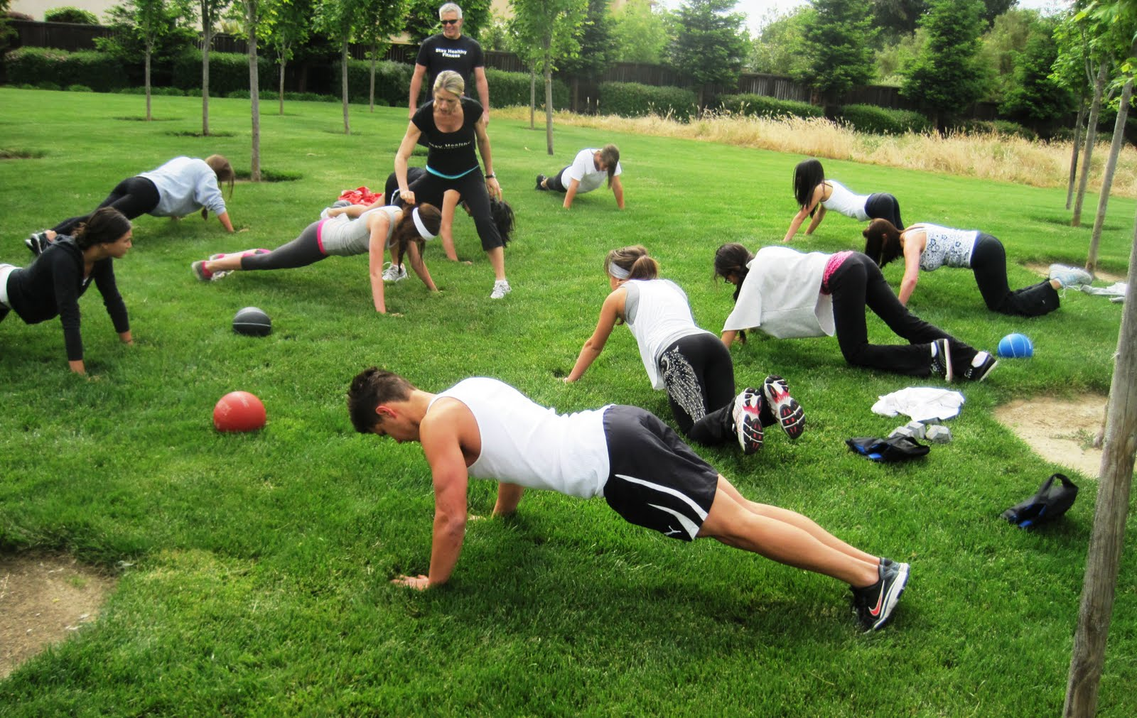 What To Expect From An Outdoor Bootcamp | The Training Room
